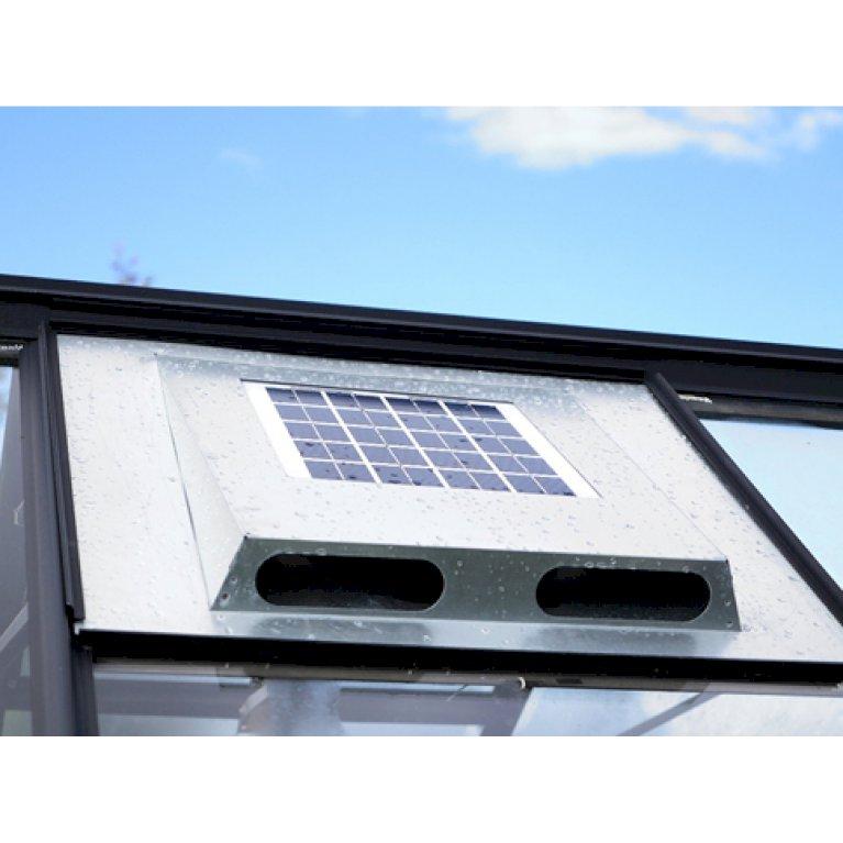 Solarfan, Kraftig solcelleventilator til drivhus