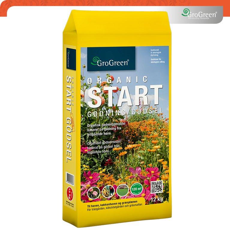 Hønsegødning Grogreen® Organic start