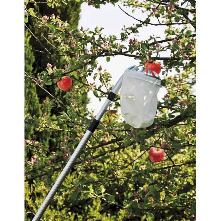 Frugtplukker m. teleskop skaft