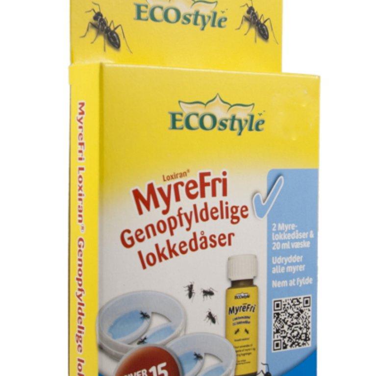 EcoStyle MyreFri - Genopfyldelige lokkedåser