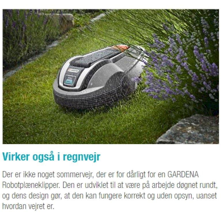 GARDENA-robotplæneklipper R50Li
