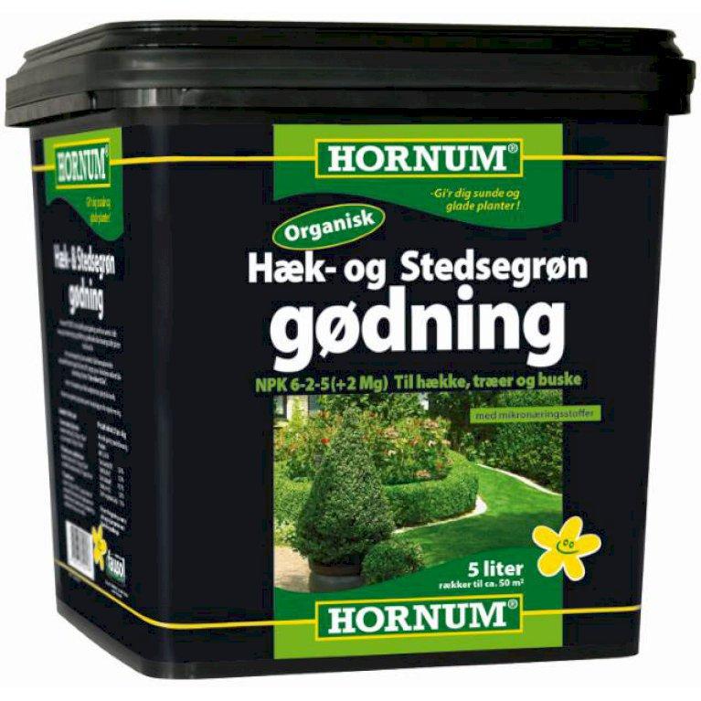Hæk- og Stedsegrøngødning 5 liter