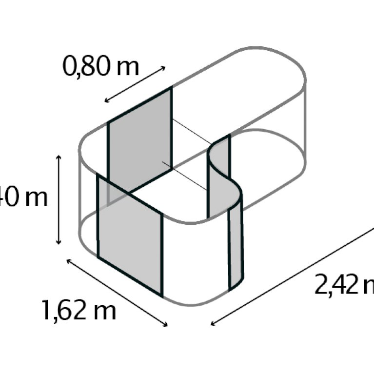 Curve - Udvidelse til Basic højbed