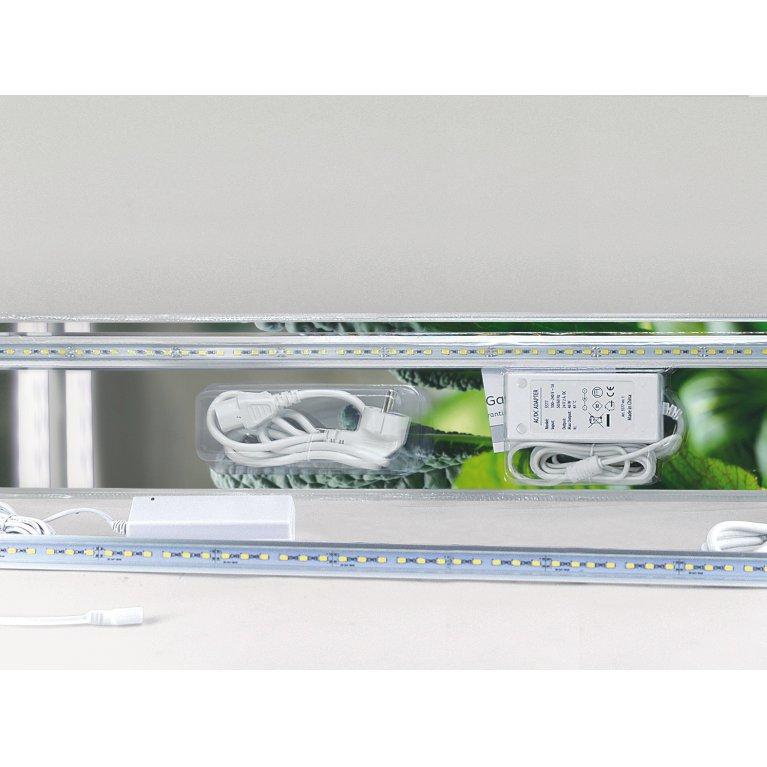 Vækstbelysning, LED-panel 23 W med adapter