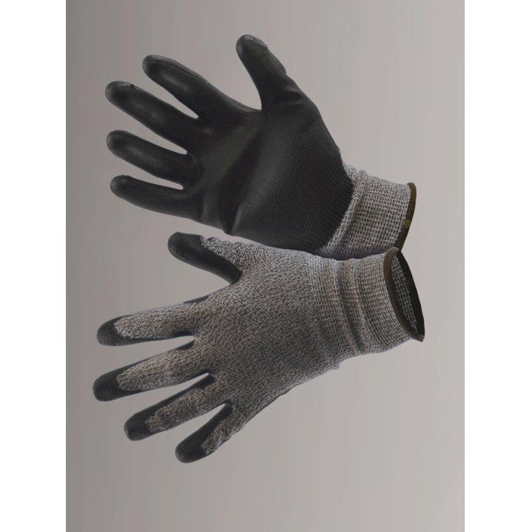 Protect, grå/sort - Skærebeskyttelseshandske
