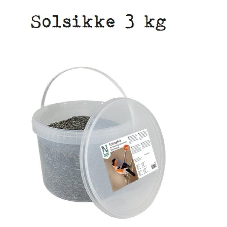 Afskallet Solsikkefrø