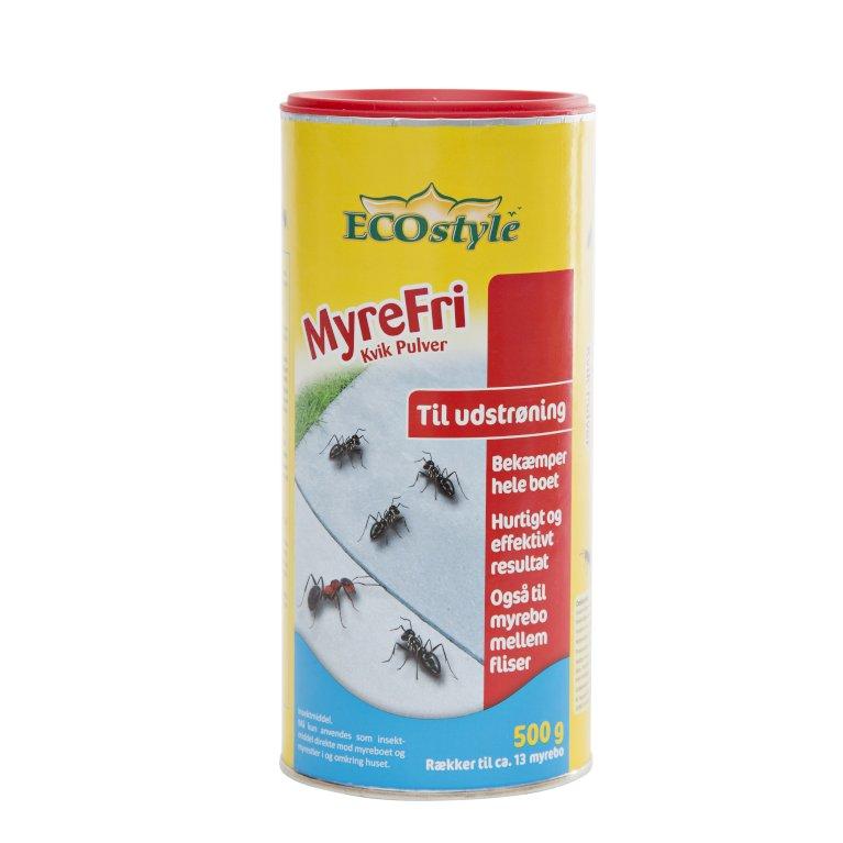EcoStyle Myrefri kvik pulver - udstrøning klar-til-brug