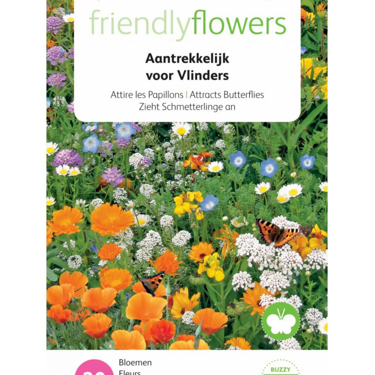 Friendly Flowers - Sommerfuglemix