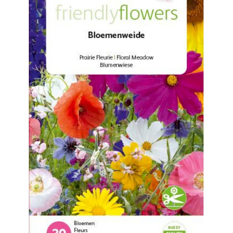 Friendly Flowers - Blomstereng