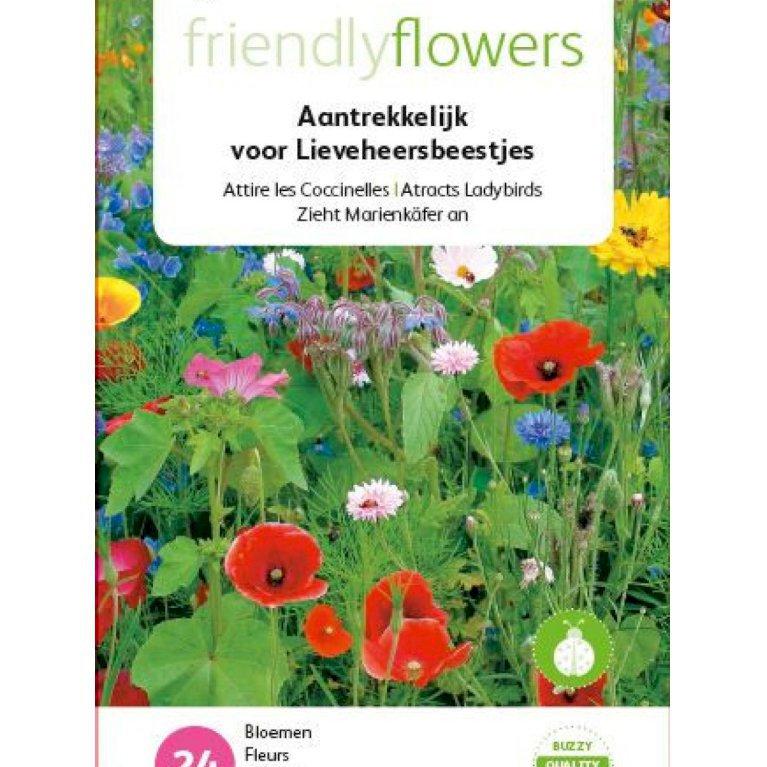 Friendly Flowers - Mariehøns
