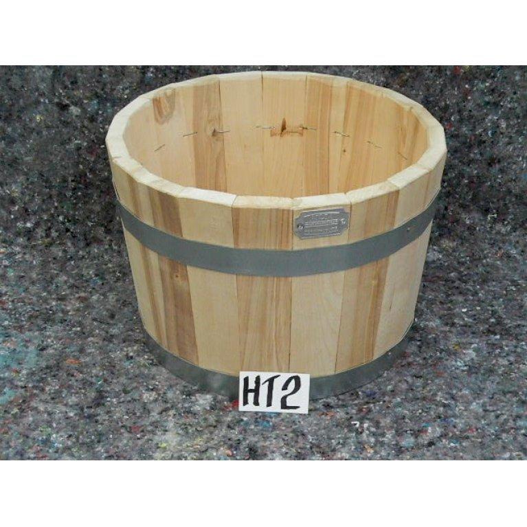 Halv whiskytønde - nyt træ
