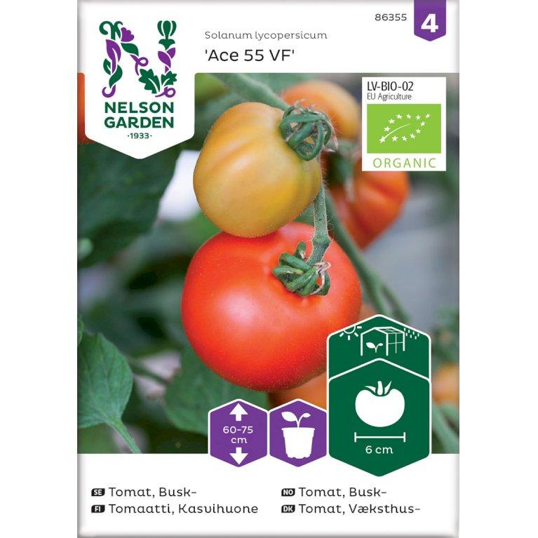 Tomat, Væksthus-, Ace 55 VF, Organic