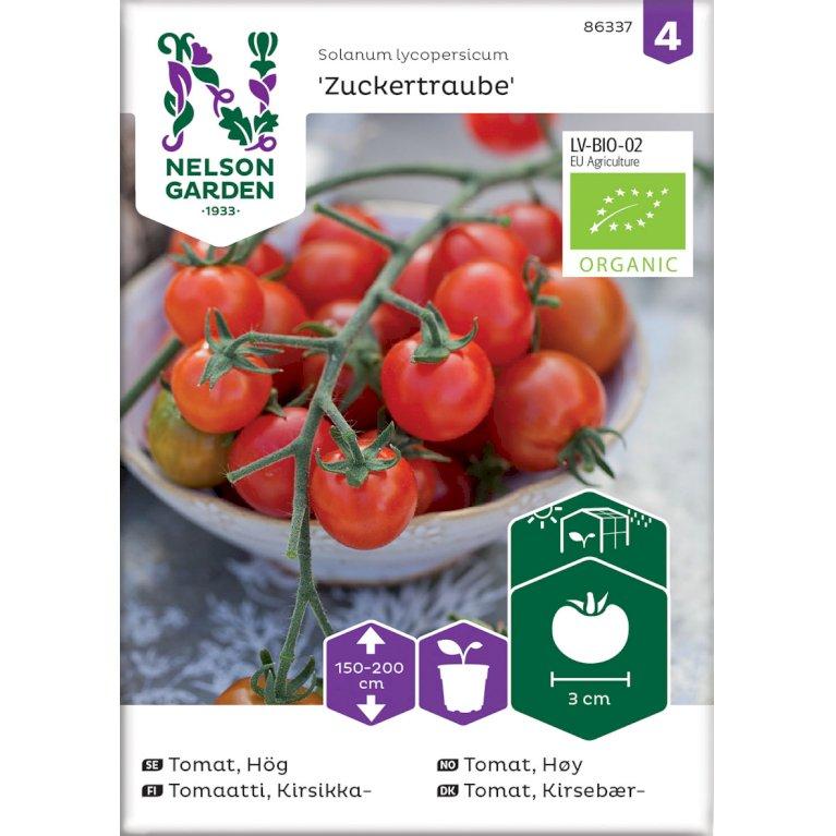 Tomat, Kirsebær-, Zuckertraube, Organic
