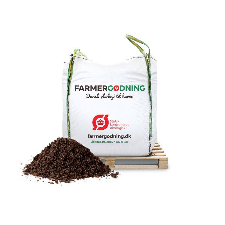 Økologisk Køkkenhave- og drivhusmuld