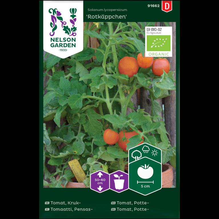 Tomat, Potte-, Rotkäppchen, Organic
