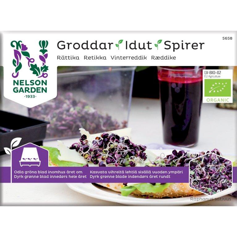 Ræddike, Spirer, Organic