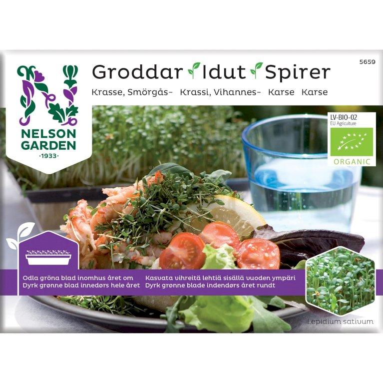 Karse, Spirer, Organic