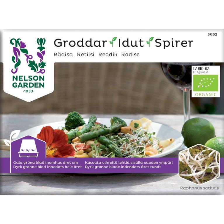 Radise, Spirer, Organic