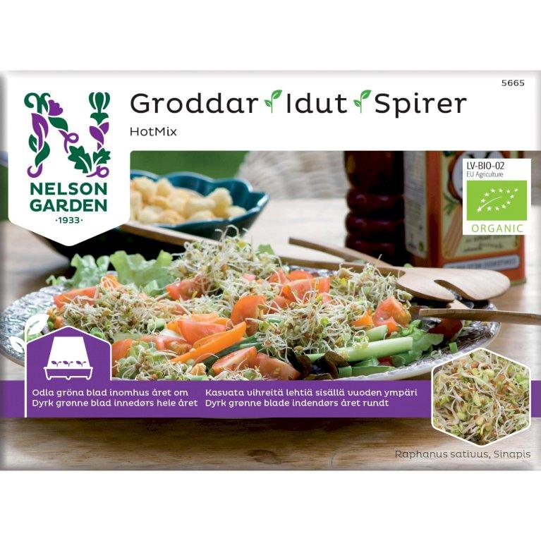 Hot mix, Spirer, Organic