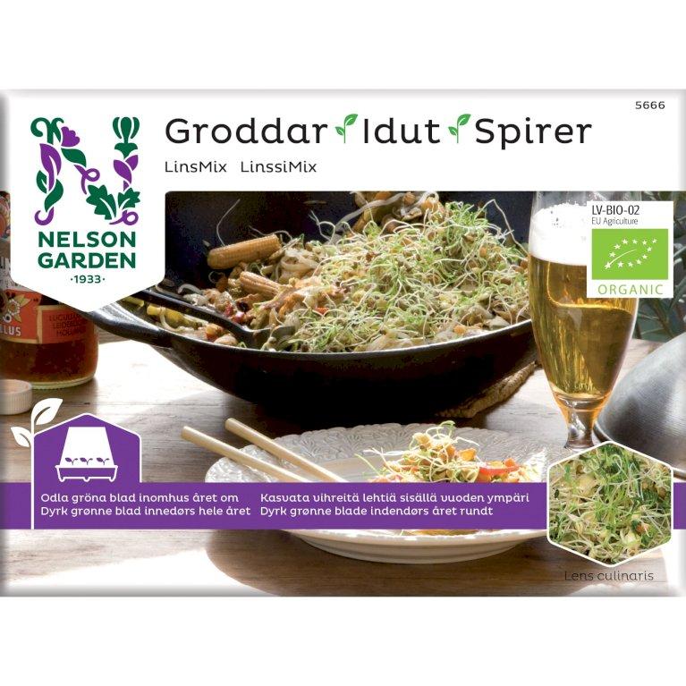 Linse mix, Spirer, Organic