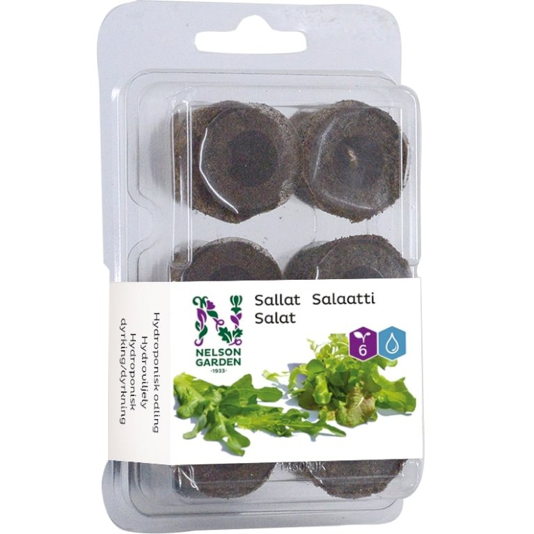 Dyrkningsbrikette - Salat