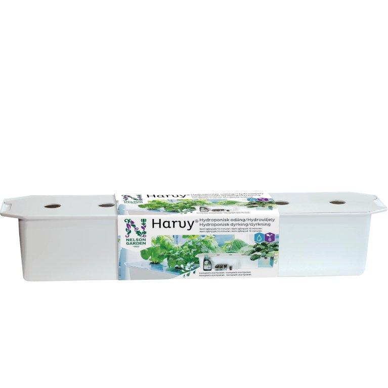 Hydroponisk startpakke med 6 plantehuller