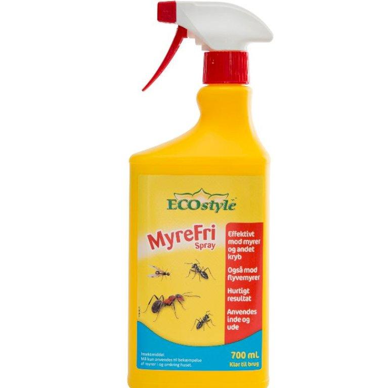 EcoStyle MyreFri Pumpespray - Klar til brug