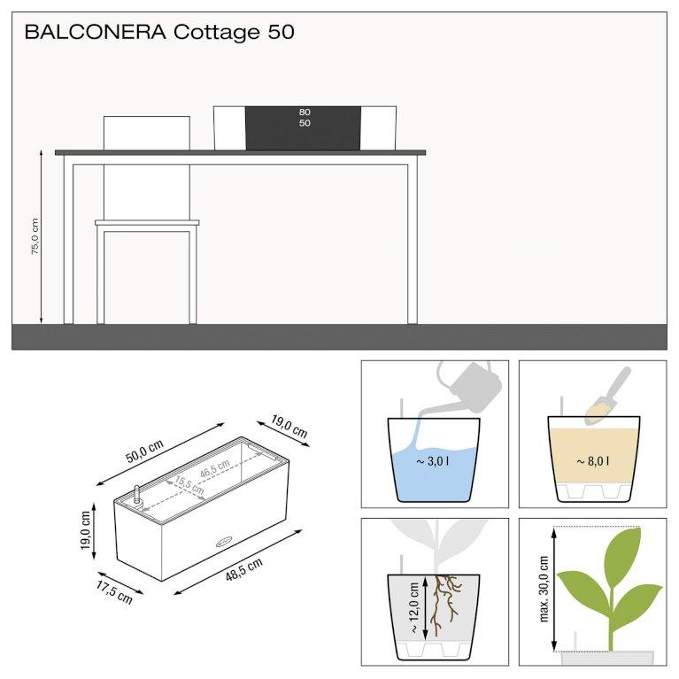Altankasse - Balconera granit flet