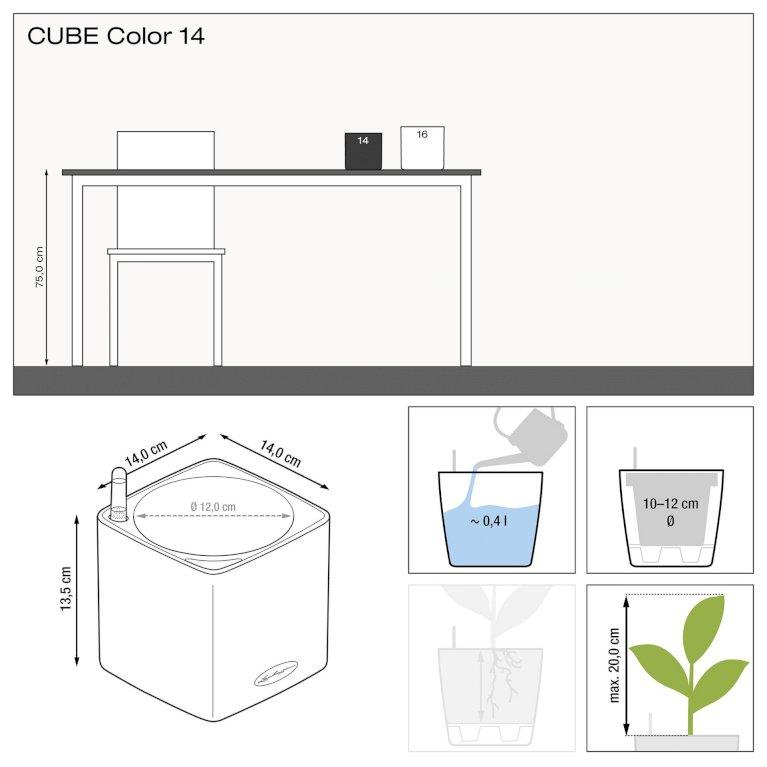 CUBE - Hvid Color