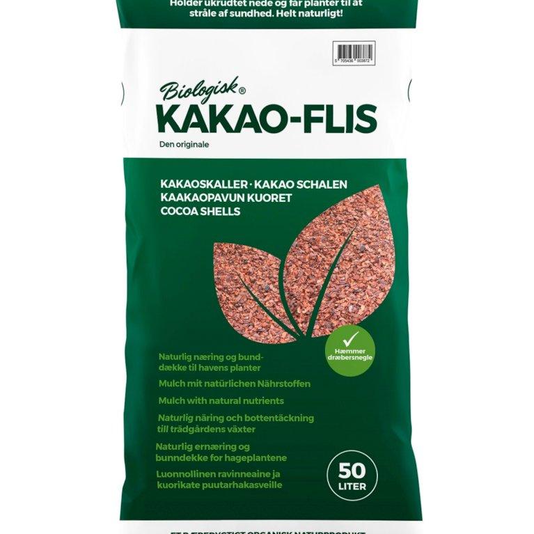 Biologisk Kakao-flis