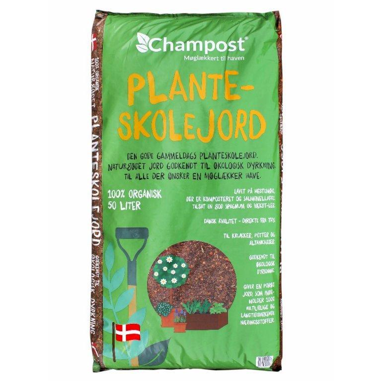 Planteskolejord fra Champost