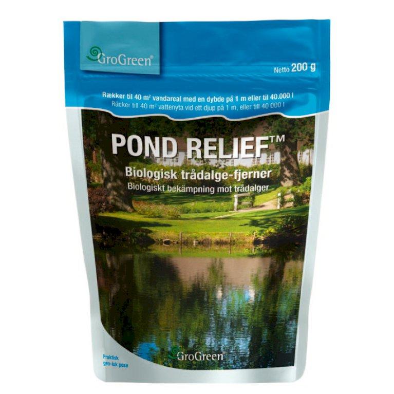 Pond Relief- Biologisk vandrensning og trådalgefjerner