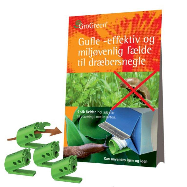 Gufle - Sneglefælde Pakke m. 4 stk.