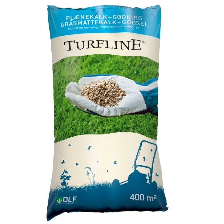 Plænekalk fra Turfline - 15 kg. + Gødning/ 400 kvm.