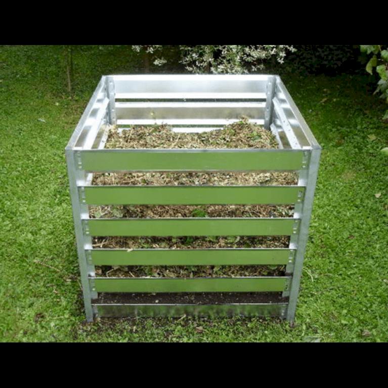 Kompost beholder (galvaniseret stål)