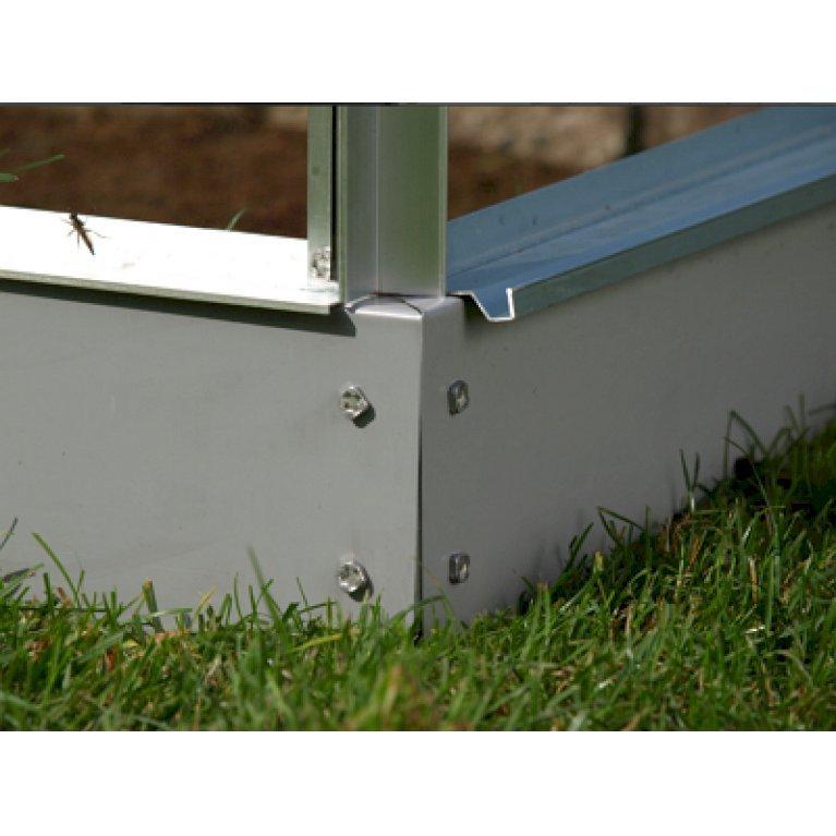 Drivhussokkel - stål