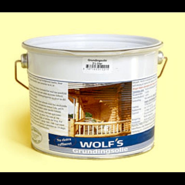 Wolf's grundingsolie