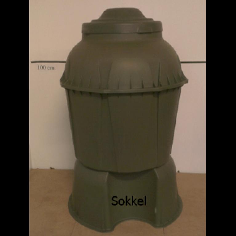 330 L regnvandsbeholder - Grøn