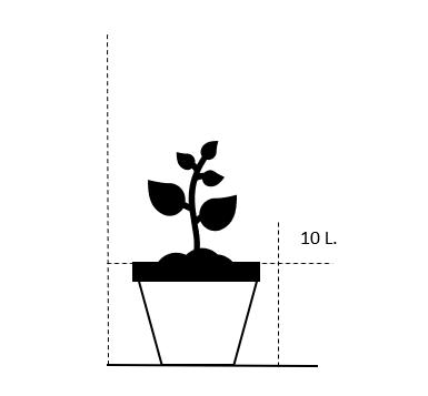 10 liter potte